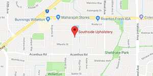 Southside Upholstery Map